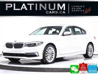 Used 2017 BMW 5 Series 530i xDrive, AWD, PREMIUM, NAV, HUD, CAM, HEATED for sale in Toronto, ON