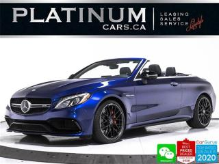 Used 2017 Mercedes-Benz C-Class AMG C63 S, 503HP, CONVERTIBLE, DISTRONIC, CARBON for sale in Toronto, ON