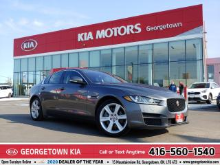 Used 2017 Jaguar XE PREMIUM   AWD   ONE OWNER   NAV   ROOF   57,244 KM for sale in Georgetown, ON