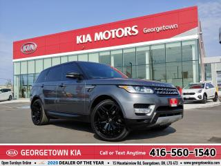 Used 2014 Land Rover Range Rover Sport HSE | LTHR | NAV | PANO ROOF | 81,216 KM | HTD STS for sale in Georgetown, ON