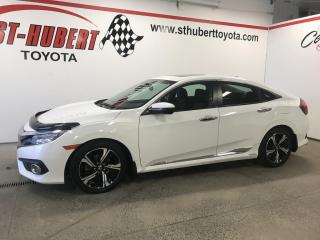 Used 2016 Honda Civic Touring, NAVIGATION/GPS for sale in St-Hubert, QC
