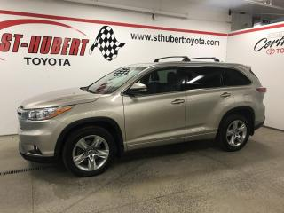 Used 2016 Toyota Highlander AWD 4DR LIMITED for sale in St-Hubert, QC
