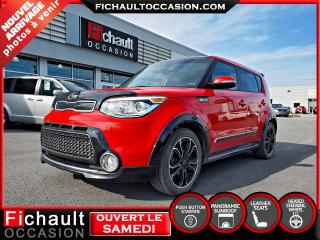 Used 2016 Kia Soul Urbain Rouge infernal for sale in Châteauguay, QC