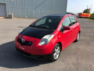 Used 2007 Toyota Yaris Hayon 5 portes, boîte automatique, RS for sale in Québec, QC