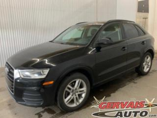 Used 2016 Audi Q3 Komfort Cuir Toit Ouvrant Mags for sale in Trois-Rivières, QC