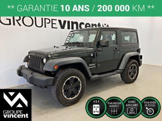 Used 2011 Jeep Wrangler SPORT 4X4 ** GARANTIE 10 ANS ** Jouet pour adulte seulement! for sale in Shawinigan, QC