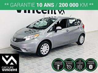 Used 2014 Nissan Versa Note SV ** GARANTIE 10 ANS ** Fiable, logeable et amusante à conduire! for sale in Shawinigan, QC