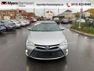 Used 2015 Toyota Camry HYBRID XLE  - Navigation -  Sunroof - $146 B/W for sale in Ottawa, ON