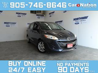 Used 2017 Mazda MAZDA5 GS | SUNROOF | 6 PASSENGER | ONLY 58 KM | 1 OWNER for sale in Brantford, ON