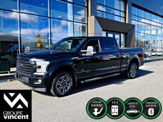 Used 2017 Ford F-150 SPORT FX4 CREWCAB 4X4 ** GARANTIE 10 ANS ** Prêt pour le travail! for sale in Shawinigan, QC
