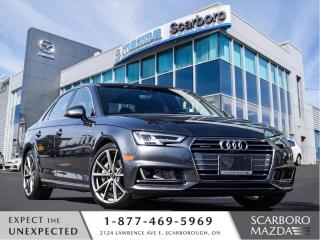 Used 2017 Audi A4 Technik S-LINE|1 OWNER|CLEAN CARFAX for sale in Scarborough, ON