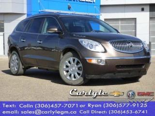 Used 2012 Buick Enclave CXL1 for sale in Carlyle, SK