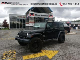 Used 2018 Jeep Wrangler Unlimited Sahara  - Bluetooth - $323 B/W for sale in Ottawa, ON