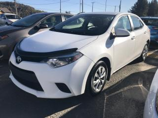 Used 2015 Toyota Corolla Berline 4 portes, boîte manuelle, CE for sale in Val-David, QC