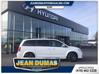 Used 2016 Dodge Grand Caravan SXT Premium Plus fourgonnette de tourism for sale in Alma, QC