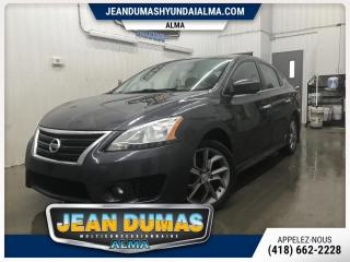 Used 2013 Nissan Sentra SENTRA SR ENSEMBLE SPORT ROUE MAG for sale in Alma, QC