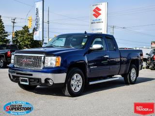 Used 2013 GMC Sierra 1500 SLT Extended Cab 4x4 ~Heated Leather ~Backup Cam for sale in Barrie, ON