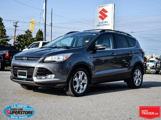 Used 2013 Ford Escape SEL 4x4 ~Nav ~Heated Leather ~Power Driver Seat for sale in Barrie, ON