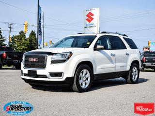 Used 2015 GMC Acadia SLE AWD ~7-Passenger ~Backup Camera ~Dual Sunroof for sale in Barrie, ON