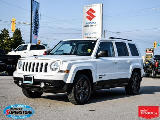 Used 2016 Jeep Patriot 75th Anniversary 4x4 ~Heated Seats ~Roof ~LOW KM! for sale in Barrie, ON