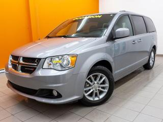 Used 2019 Dodge Grand Caravan 35 AN STOW N GO SIÈGES CUIR / SUEDE CAMÉRA*BAS KM* for sale in Mirabel, QC