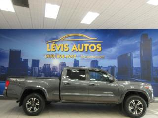 Used 2017 Toyota Tacoma TRD SPORT 4X4 17100 KM GPS CAMERA DE REC for sale in Lévis, QC
