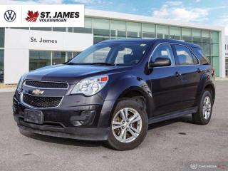Used 2015 Chevrolet Equinox LS, Remote Start, Bluetooth, Cruise Control for sale in Winnipeg, MB