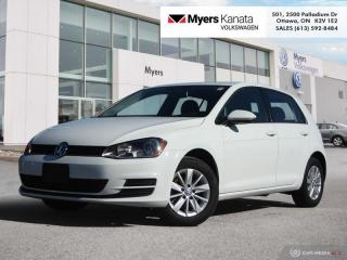 Used 2015 Volkswagen Golf 1.8 TSI Trendline  - Heated Seats for sale in Kanata, ON