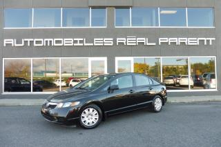 Used 2010 Honda Civic DX - 156 304 KM -AUX - AC - for sale in Québec, QC