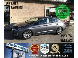 Used 2019 Hyundai Elantra Preferred* B.cam/B.tooth/Htd seats for sale in Winnipeg, MB
