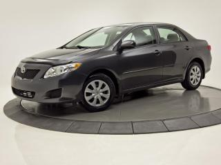 Used 2010 Toyota Corolla 4DR SDN MAN CE for sale in Brossard, QC