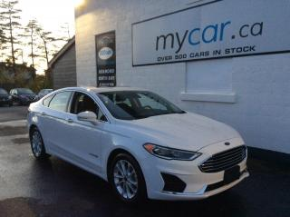 Used 2019 Ford Fusion Hybrid SEL LEATHER, SUNROOF, HEATED SEATS, BACKUP CAM!! for sale in Richmond, ON