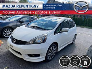 Used 2012 Honda Fit SPORT MANUELLE BLUETOOTH CRUISE  46.20$/ for sale in Repentigny, QC