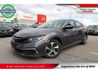 Used 2019 Honda Civic LX | Manual | Android Auto/Apple CarPlay for sale in Whitby, ON
