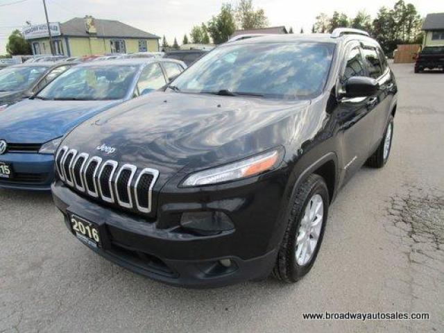 2016 Jeep Cherokee POWER EQUIPPED NORTH-EDITION 5 PASSENGER 3.2L - V6.. 4X4.. SELEC-TERRAIN.. HEATED SEATS & STEERING WHEEL.. BACK-UP CAMERA.. BLUETOOTH SYSTEM..