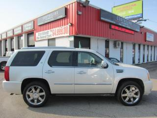 Used 2013 Cadillac Escalade Hybrid RARE!! $19,995+HST+LIC FEE / CLEAN CARFAX / CERTIFIED / ALL WHEEL DRIVE for sale in North York, ON