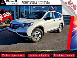 Used 2015 Honda CR-V LX BAS KILO JAMAIS ACCIDENTE for sale in Blainville, QC