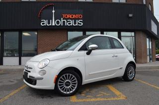 Used 2014 Fiat 500 Lounge/RED LEATHER/PANORAMA for sale in Concord, ON