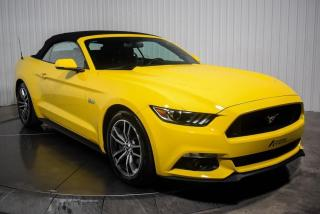 Used 2017 Ford Mustang GT PREMIUM CABRIOLET V8  NAVIGATION MAGS for sale in St-Hubert, QC