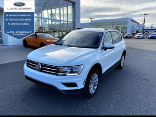 Used 2019 Volkswagen Tiguan Trendline 4Motion for sale in Victoriaville, QC