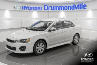 Used 2017 Mitsubishi Lancer ES + GARANTIE + A/C + SIEGES CHAUFFANTS for sale in Drummondville, QC