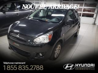 Used 2014 Mitsubishi Mirage SE + GARANTIE + A/C + MAGS + HITCH + FOG for sale in Drummondville, QC
