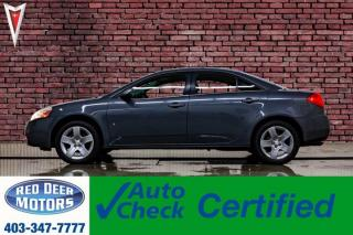 Used 2009 Pontiac G6 SE sedan for sale in Red Deer, AB