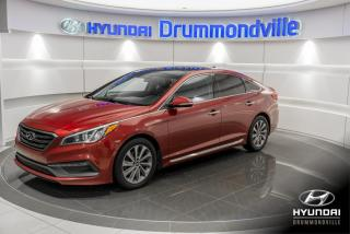 Used 2015 Hyundai Sonata SPORT + GARANTIE + TOIT PANO +  CUIR +WO for sale in Drummondville, QC