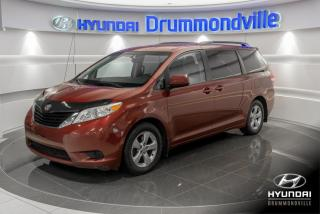 Used 2013 Toyota Sienna LE + GARANTIE + A/C + CAMERA + MAGS + WO for sale in Drummondville, QC