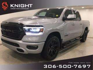 New 2020 RAM 1500 Sport Crew Cab Night Edition | Leather | Sunroof | Navigation | for sale in Regina, SK