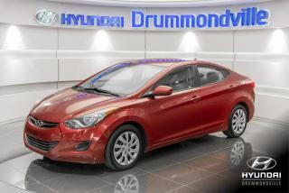 Used 2013 Hyundai Elantra GL + GARANTIE + CRUISE + A/C + BLUETOOT for sale in Drummondville, QC