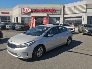 Used 2017 Kia Forte Auto LX + CAMERA DE RECULE **BANC CHAUFFANT for sale in Mcmasterville, QC