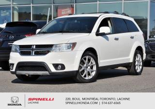Used 2013 Dodge Journey R/T TRES BAS KM AWD CUIR AWD CUIR MAGS BLUETOOTH++ for sale in Lachine, QC