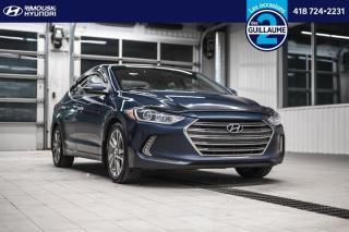 Used 2017 Hyundai Elantra Limited chez Rimouski Hyundai for sale in Rimouski, QC